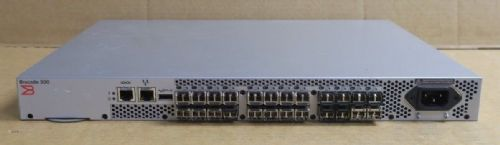 Dell Brocade 300 DL-320-0005 24-Ports Active 8Gb Fibre Channel SAN Switch R601K